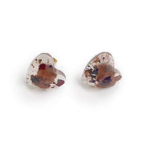Boucles d'oreilles asymétrique 0721