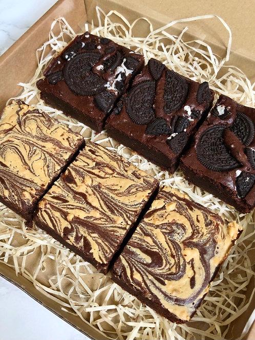 Mixed Brownies (box of 6)