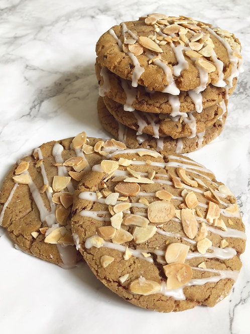 Bakewell Cookies (box of 6 or 12)
