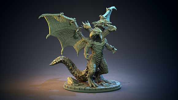 Tiamat from clay cyanide