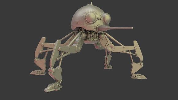 Spider Droid by warblade studio