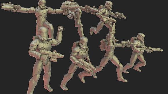 Order 1 troopers from Warblade studio