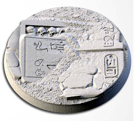 63mm base Egyptians design