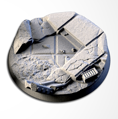 63mm base City Ruins design