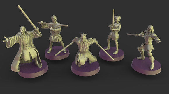 Space wizards squad from Warblade studio