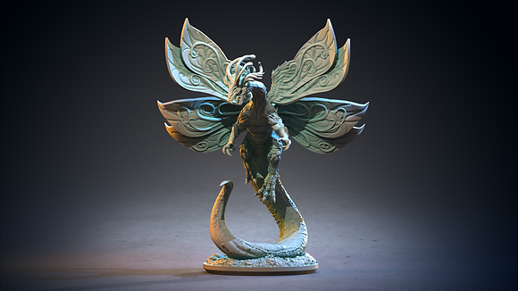Faerie Dragon from clay cyanide
