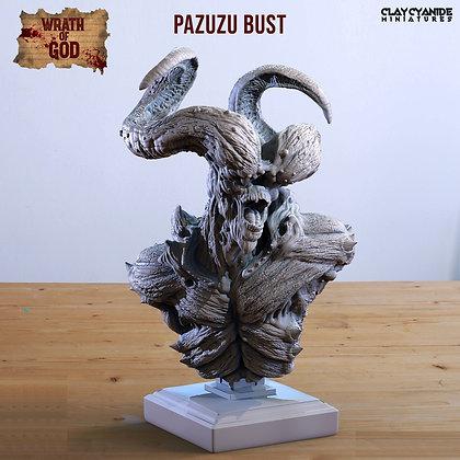 Pazuzu Bust from clay cyanide
