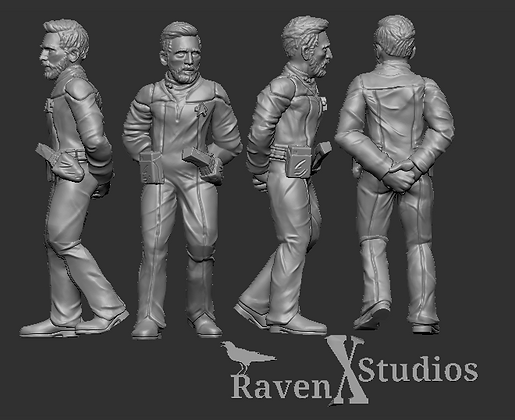 Security officer Human Crewman from RavenX Studios