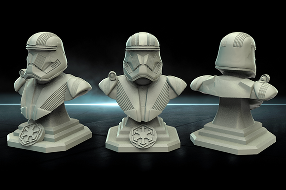 First Order Trooper bust From Warblades studios