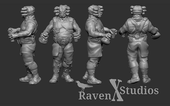 Seezelslak from RavenX Studios