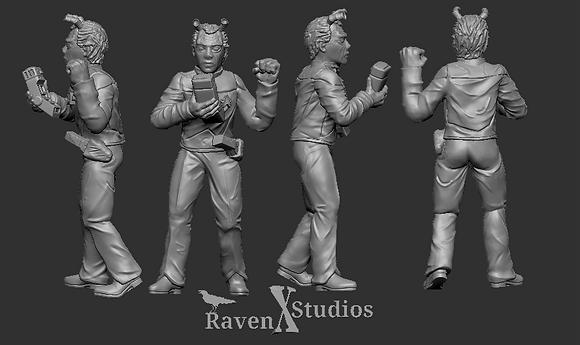 Andorian Crew female from RavenX Studios