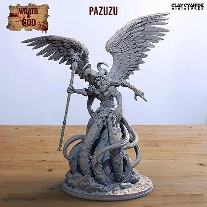Pazuzu from clay cyanide