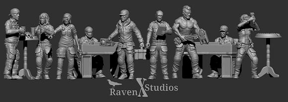 Colonists Bundle1 From RavenX Studios