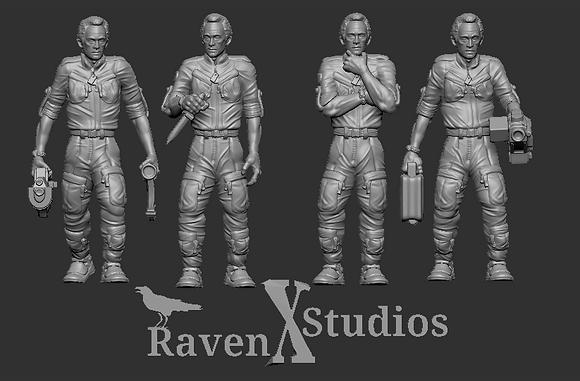 Bishop Bundle From RavenX Studios