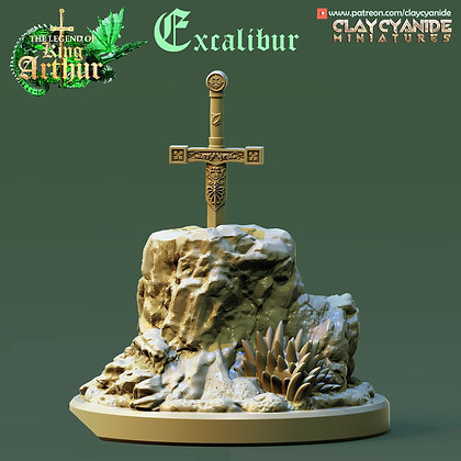 Excalibur from clay cyanide miniatures