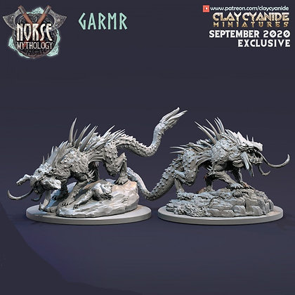 Garmr from Clay Cyanide miniatures