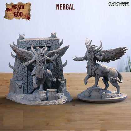 Nergal from clay cyanide