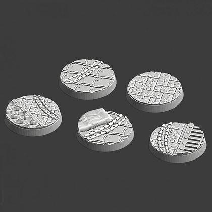 32mm bases 5 pack medieval design
