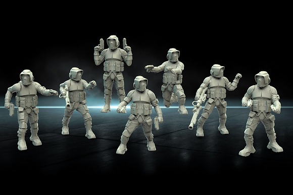 Scout Troopers From Warblade studio