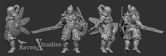 Greater Good Shield Master from RavenX Studios