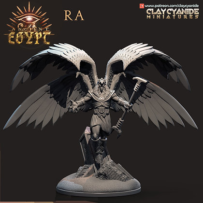 Ra from clay cyanide miniatures
