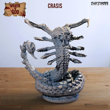 Crasis from clay cyanide