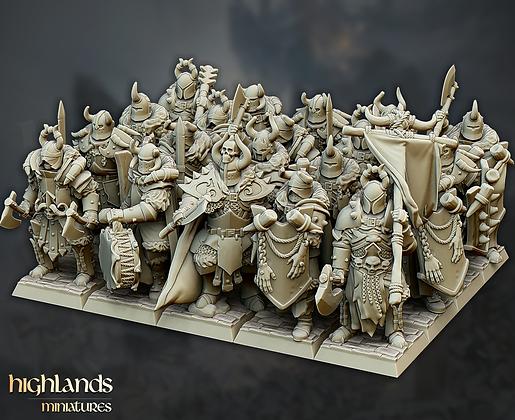 Varyags Warriors from Highlands Miniatures