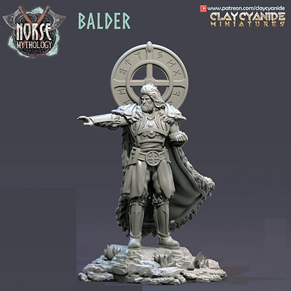 Balder from Clay Cyanide miniatures