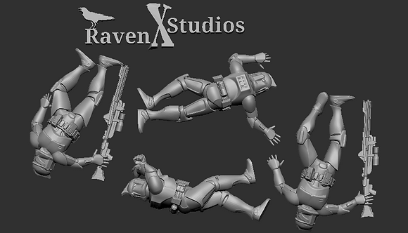 Dead Clone Troopers from RavenX Studios