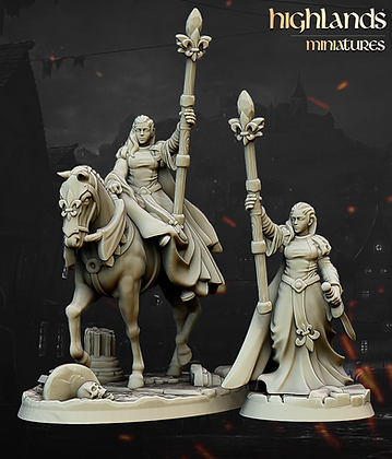 Damsel of the Lady from Highlands Miniatures