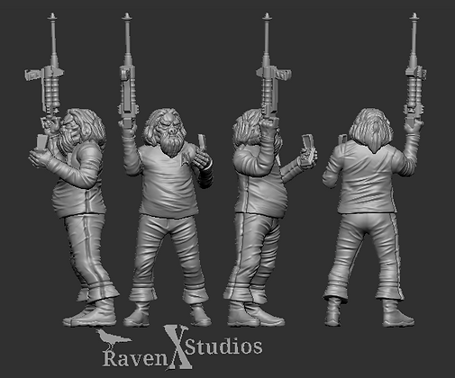 Crewman Tellarite from RavenX Studios