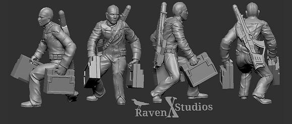 Bolian Crewman from RavenX Studios