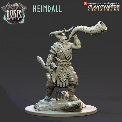 Heimdall from Clay Cyanide miniatures