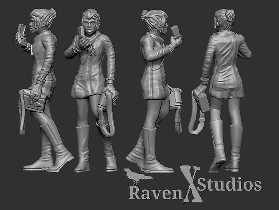 Female Doctor from RavenX Studios