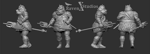 Gamorrean Guard squad from RavenX Studios