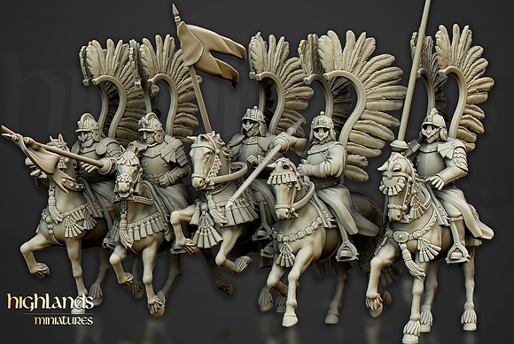 Winged Hussar Cavalry by Highlands Miniatures
