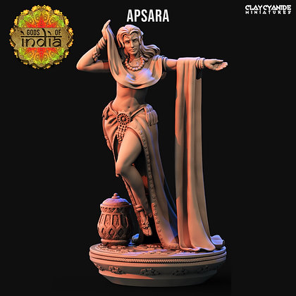 Apsara from Clay Cyanide Miniatures