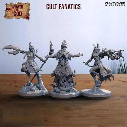 Cult Fanatics from clay cyanide