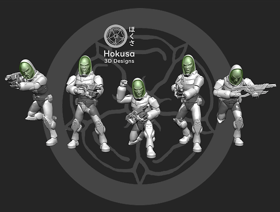 Shadow world troops From Hokusa studios