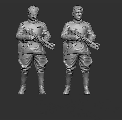 Clone Officer with Lazer Rifle from RavenX Studios