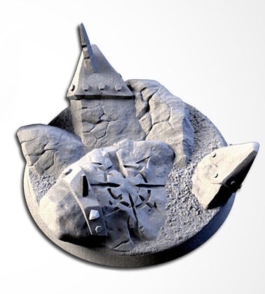 63mm base Chaos Hell design