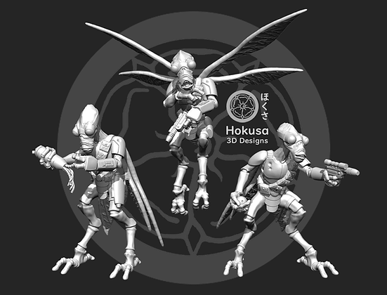 Space Bugs Scrappers by Hokusa