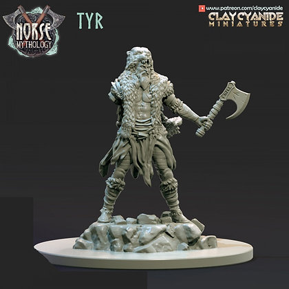 Tyr from Clay Cyanide miniatures
