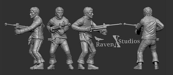 Crewman from RavenX Studios