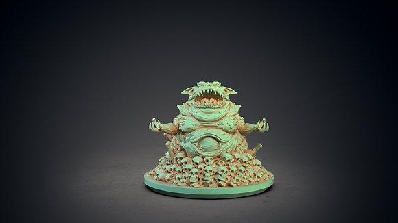 Tsathoggua by clay cyanide miniatures