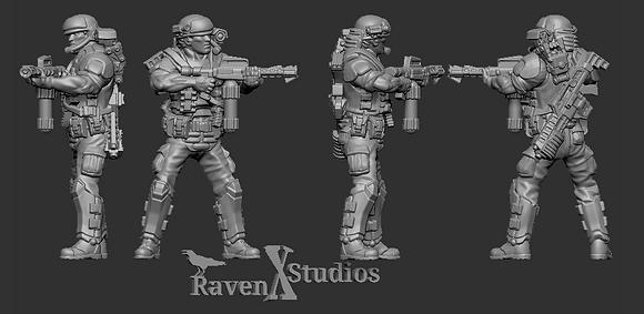 Aliens Colonial Marine version 3 From RavenX Studios