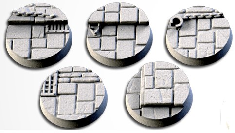 25 mm Bases 5 pack Dungeon design