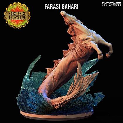 Farasi Bahari from clay cyanide