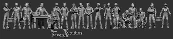 Logistics And Transport Crew Bundle From RavenX Studios