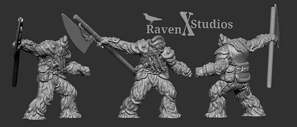 Elite Wookiee Warriorfrom RavenX Studios